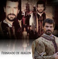 Ferdinand of Aragon (Rodolfo Sancho) by Nurycat