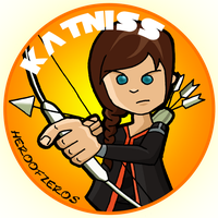 The Hunger Games: Katniss by HeroOfZeros