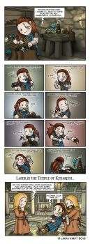Skyrim: You Are What You Eat by Isriana