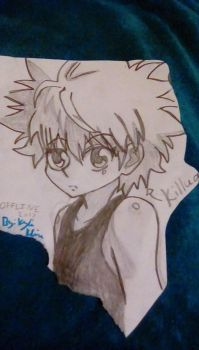 Killua #3 by Voobhugo