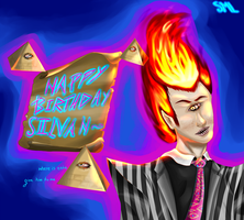 :.Happy Birthday SiiLvAH.: by SmlArt