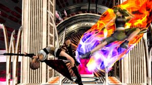 Lightning vs Tifa by XxshadowfirexX