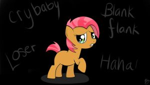 Blank Flank by Balloons504