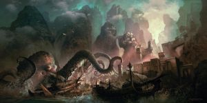 Monster Raid by FerdinandLadera