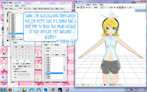 MMD WIP- R?? K??a??n?? A??e?d by youkou-chan