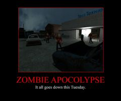 Zombie Apocolypse on tuesday by 1337-1