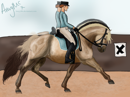 Dreaming of Dressage... by bellequine