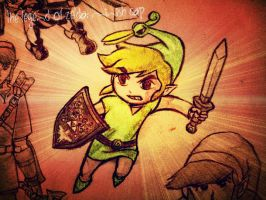 Toon Link : Minish Cap! by Kumadawg