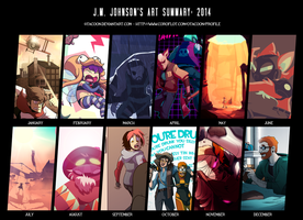 Art Summary 2014 by 0tacoon