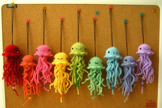 The Crayola of Jellyfish by PosiPlush