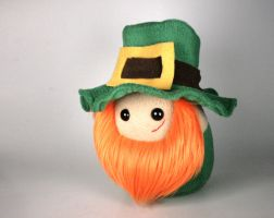 Who's Your Paddy Leprechaun Plushie by Saint-Angel