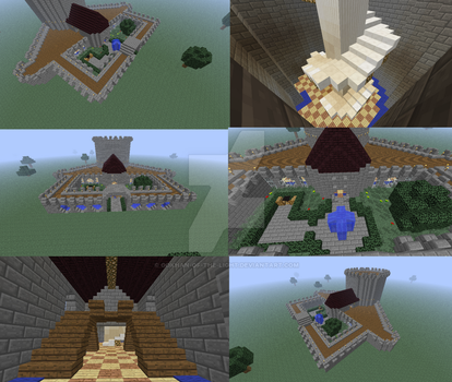 Minecraft build competition by gokhan-of-the-light