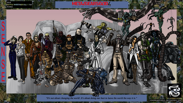 Metal Gear Solid 4: Guns of the Patriots by cheddarpaladin