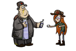 GRAVITY FALLS USSR by Dubov0