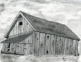 Just Another Barn by meregoddess