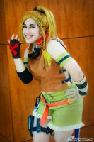 Pleased ta Meet ya, I'm Rikku by Sansansan