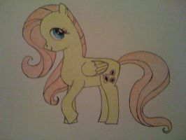 Challenge! Fluttershy by Cursive-Spill