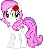 Petal Sparkle (OC Request) by TheShadowStone