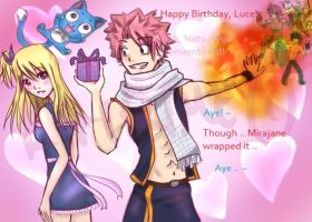 Fairy Tail : Happy Birthday Lucy! by Kairime