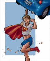 supergirl for drawoff by cakes