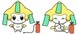 Jirachi Inflation 1 by selphy6