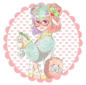 Harajuku Alpaca by blackxxcherry