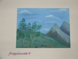 mountings oil painting by frogslave69