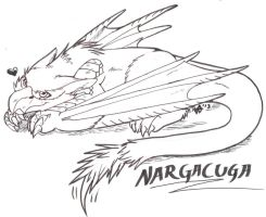 Chibi Nargacuga by Hylianwolf