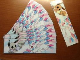 Shiny Sylveon Bookmark! (photo size 5) by Cachomon