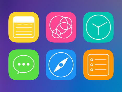 IOS icons redesign by AndreyRudenko