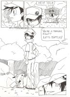 Red Versus Ash - Page 1 by LittleScarecrow