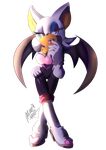 Just Rouge the Bat by Madelajna