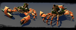 ::crab battle:: by sangheili117