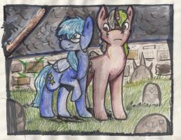MeadowShrine and Trinary Request by spotty-bee