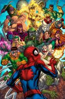 Spider-Man and The Secret Wars by SotoColor