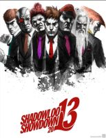 Shadowloo showdown 2013 by ImmarArt