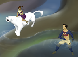 WIP - Crossover: Princess Mononoke by elven-thespian