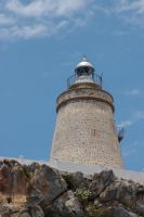 Lighthouse on the mountain by archaeopteryx-stocks