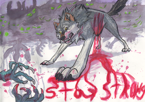 Stay Strong by BlackTailwolf