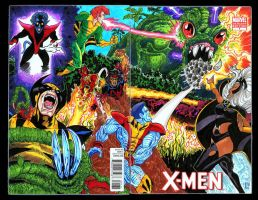 The Marvel Project Xmen Cover Full by fbwash