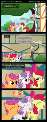 CMC and Discord in ''Harmony Disruption'' by DiegoTan