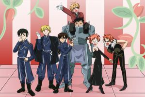 Full Metal Host Club by boweti