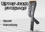 Ripped Jeans DOWNLOAD by Kohaku-Ume