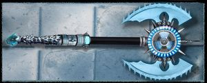 Futuristic Ice Axe by Unkn0wnfear
