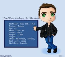 NCIS - Tony Profile by ryuuri