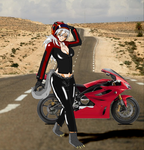 May Motorcycle Attire by Reagen-Lionel