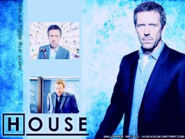 Wallpaper - Dr. Gregory House by vivovivo