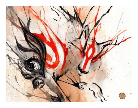 Amaterasu Ink by RubisFirenos