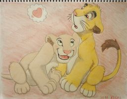 Simba's Heartbeat by RIGEL6217