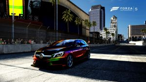 Mercedes-Benz A45 AMG by Dark-Lord-of-Sith